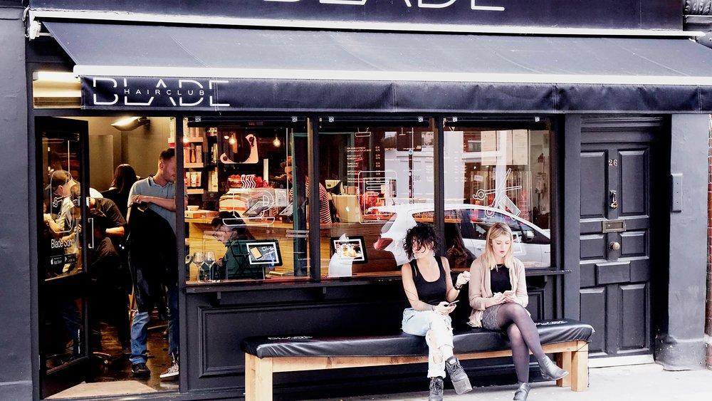 blade hairclubbing - 26 Frith StreetSohoLondon