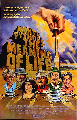 Monty Python's mostly unrelated film
