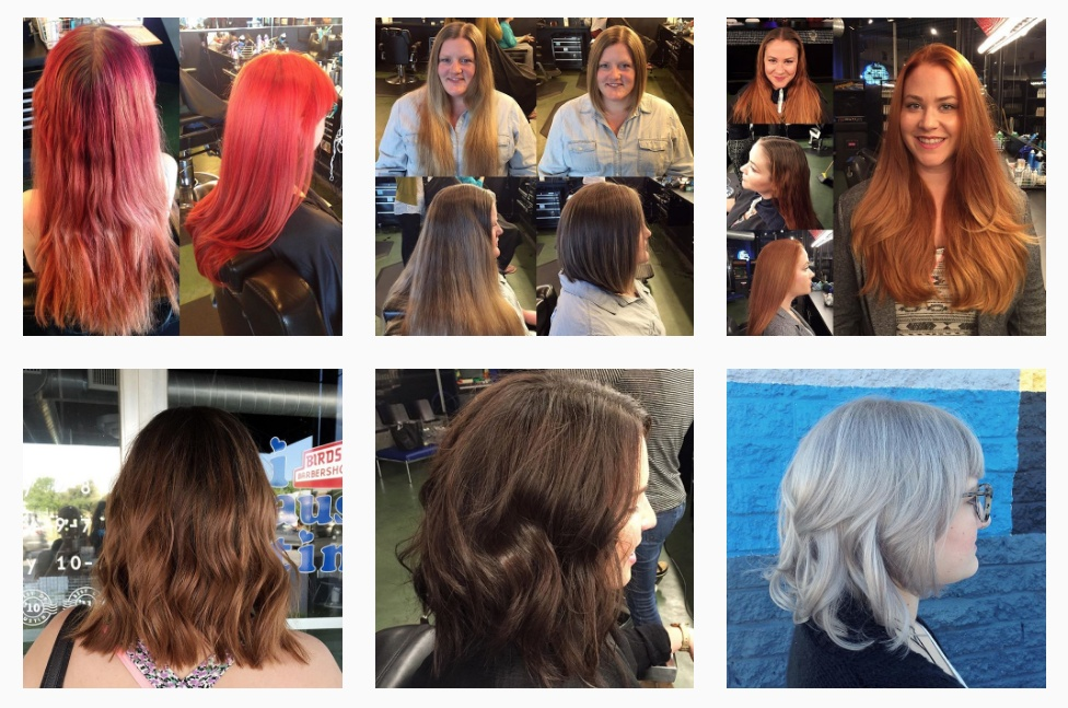 Here are a few great photos from Rebekah Jae Hair