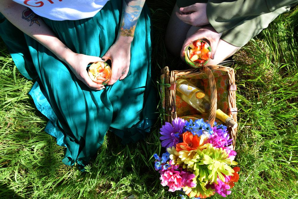 barefoot wine picnic