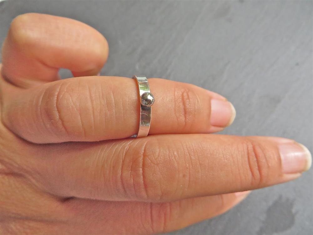 Silver Mid Finger Rings Uk