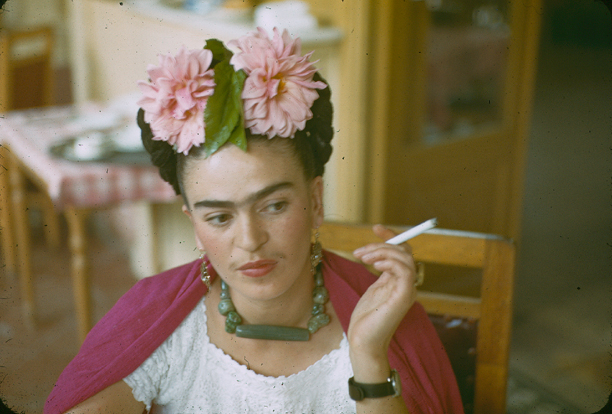 Queen Frida Kahlo totally rocked a choker