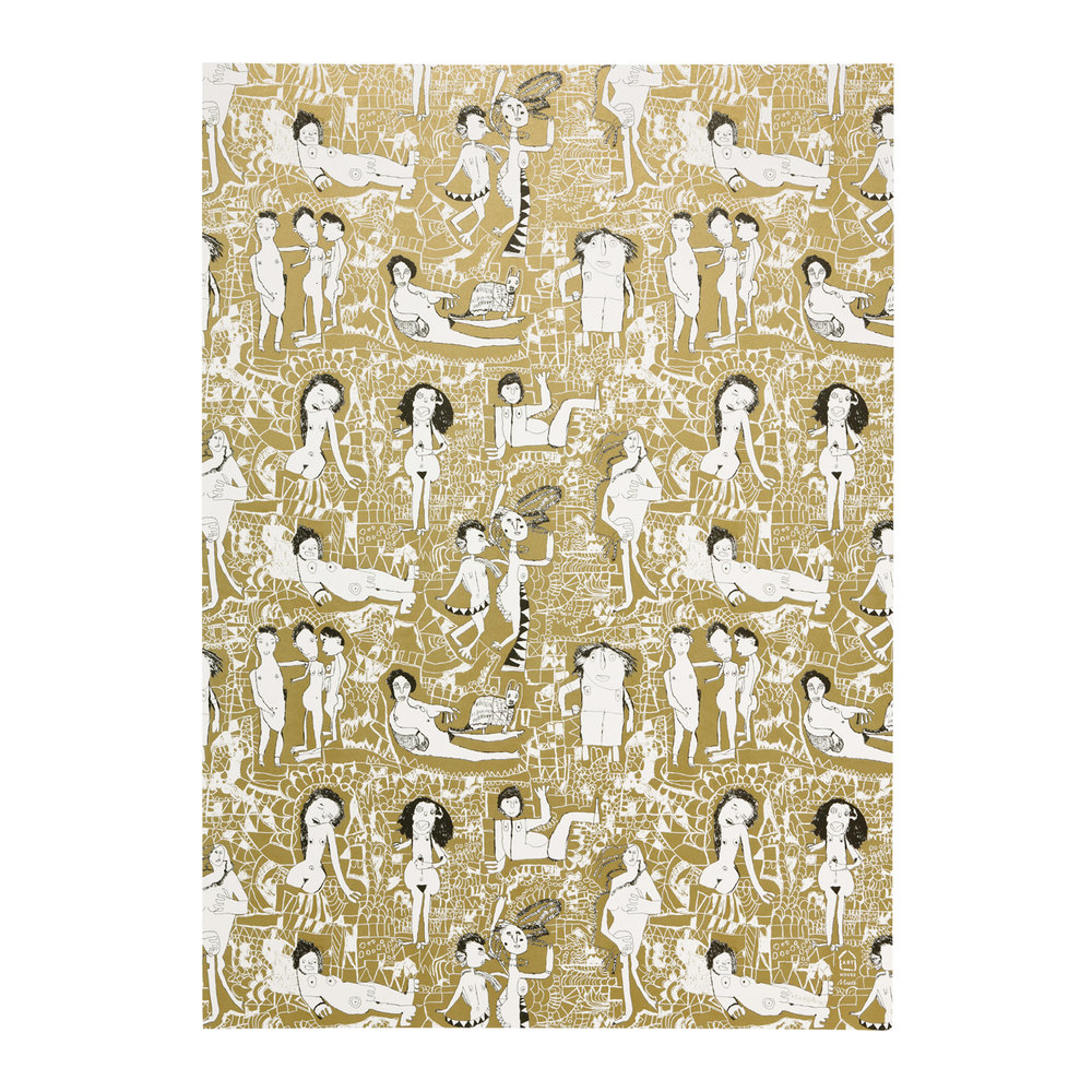 Art House Meath - Peter's Naked Ladies Gift Wrap