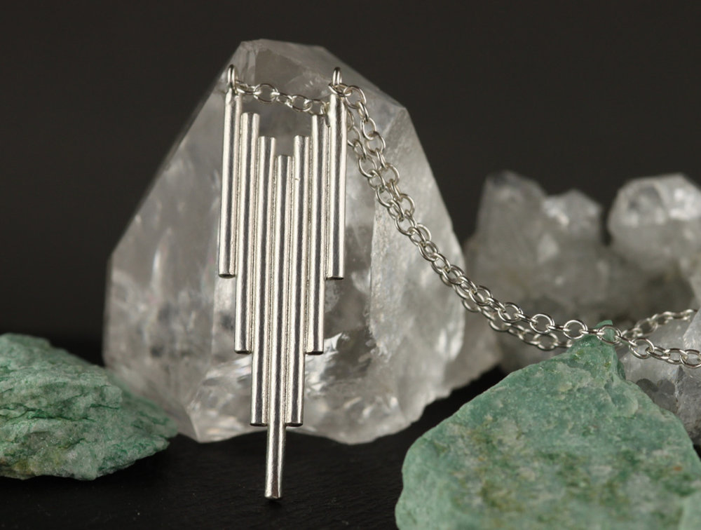 Silver Skyline Necklace  £120