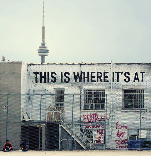 So Toronto.    from  http://typenovel.tumblr.com/