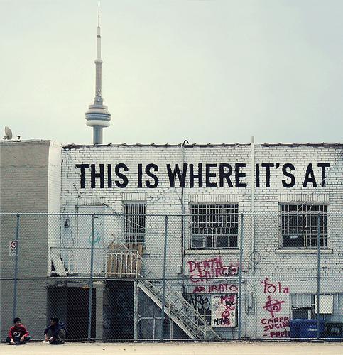 So Toronto. fromhttp://typenovel.tumblr.com/