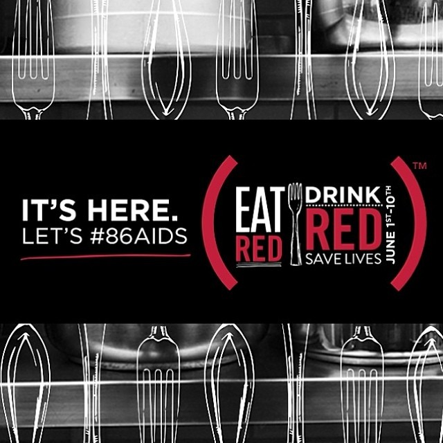 We're joining @RED to help #86AIDS Participate by ordering our Pomegranate Caipirinha cocktail today through June 10 #eatRED #drinkRED #savelives www.bit.ly/SzG08c