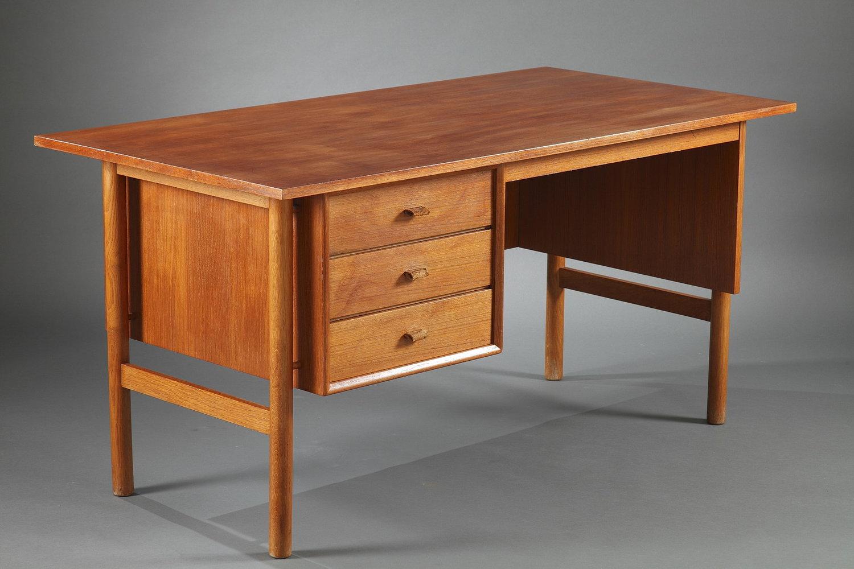 Un bureau en teck scandinave u2014 meubles