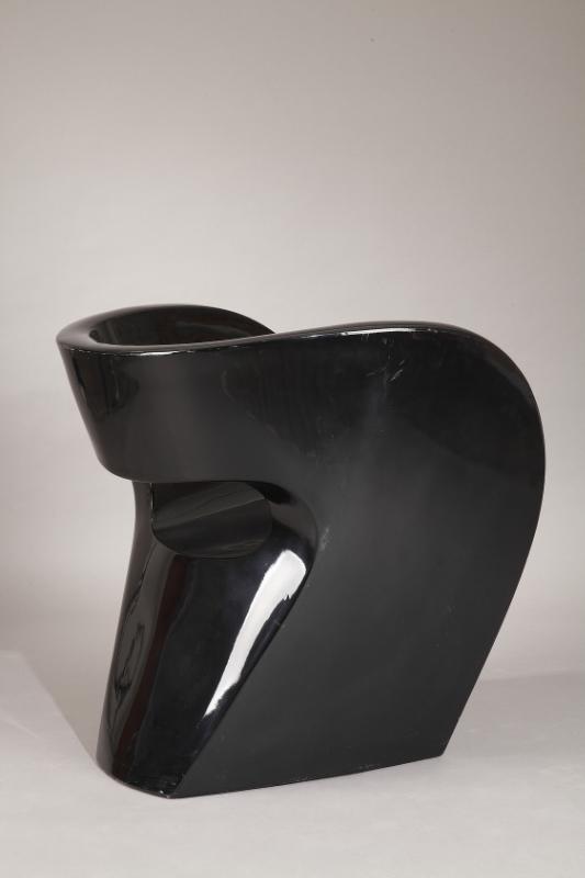 paire de fauteuils little albert laqu s noir ron arad pour moroso meubles. Black Bedroom Furniture Sets. Home Design Ideas