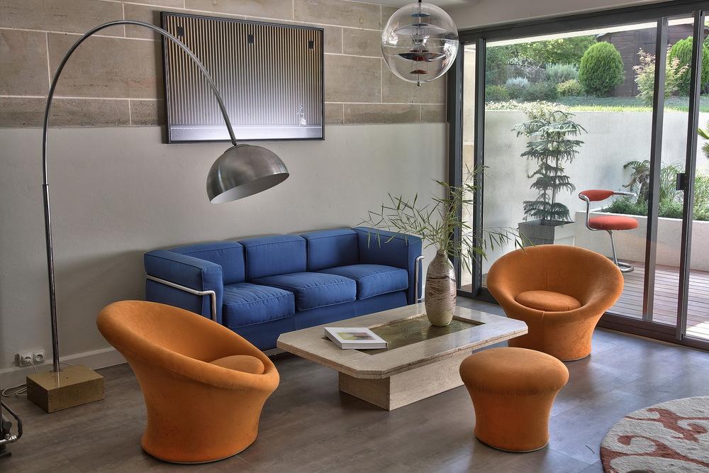 Le Corbusier et Pierre Paulin