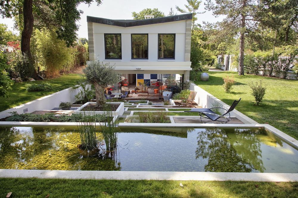 Jardin Terrrasse Design by Laurent Legris