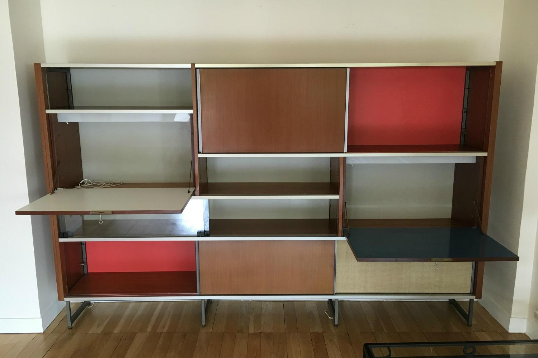 meuble de rangement design georges frydman 1955 meubles. Black Bedroom Furniture Sets. Home Design Ideas