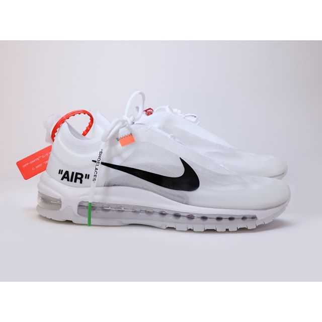 "A LIL OFF - NIKE AIR MAX OFF-WHITE I didn't win the raffle to get the Virgil Abloh ""The Ten Collection"" aka Off-Whites. Well I thought I might have won the raffle as it was happening, but I had the wrong credit card saved on file on the Nike SNKRS app - and it never went through so I kinda lost out. So the next few weeks I scoured eBay for off-whites. One night I found these - and only for $110. Pretty sweet deal. Then I got them in the mail and noticed they were all plasticy and stuff. Not what I thought they'd feel like, but I rolled with it. Seeing how other Air Max Off Whites were selling for over $850, I had it in my mind that I was gonna flip them and make a profit. So I brought them to Stadium Goods on Canal Street in NYC to try to sell them. I showed them to the buyer and the guy laughed at me. ""You can't sell those"" he said, and explained they were fakes. So now I got some fly ass Off Whites that look good from far away. Never worn in public."