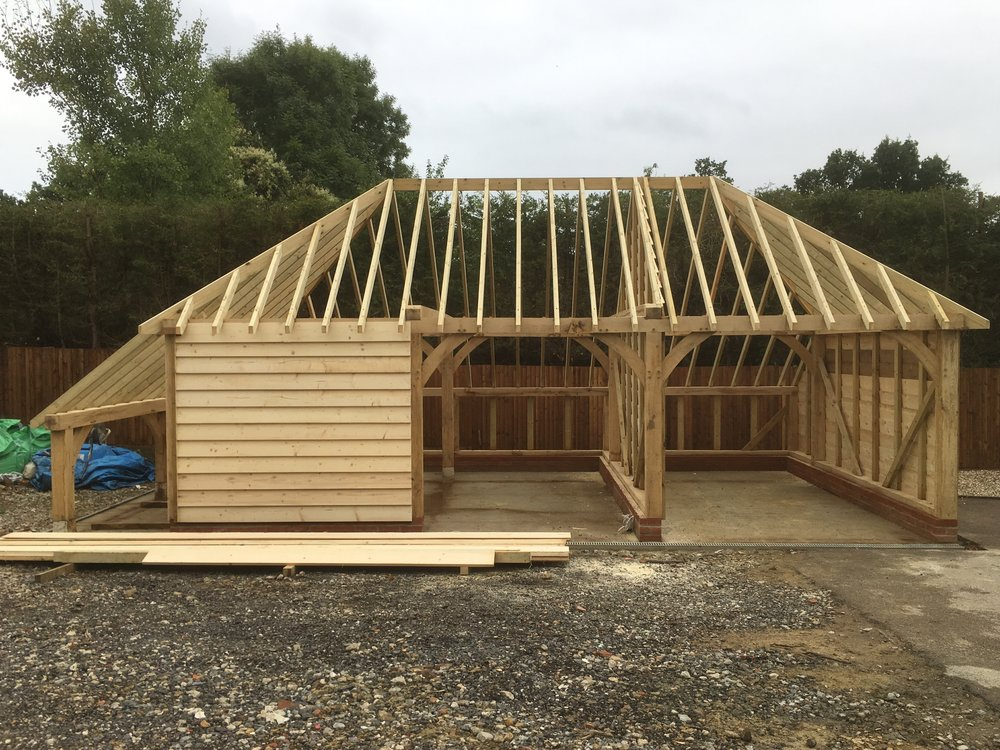 Garages And Carports Timber Frame Porches