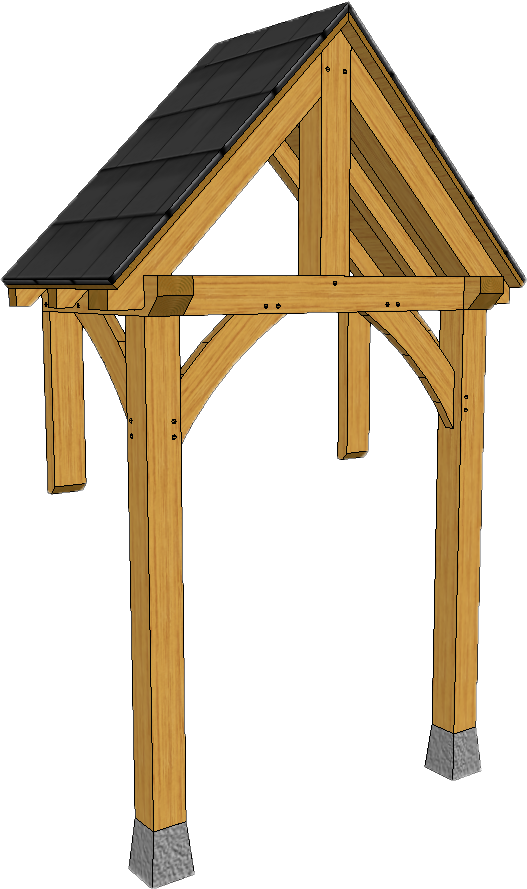 OAK PORCHES - STANDARD RANGE OF STYLES AND DESIGNS — TIMBER FRAME ...