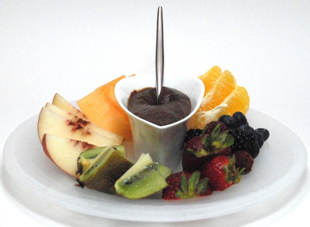 Forte chocolate spread fruit dip