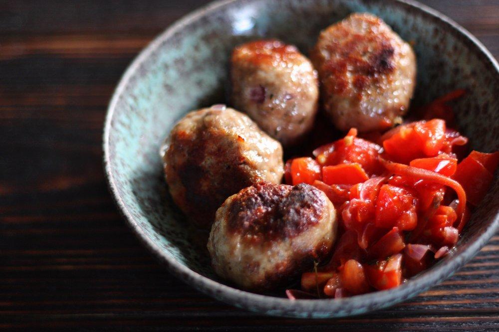 haitian meatballs with pikliz salsa.JPG