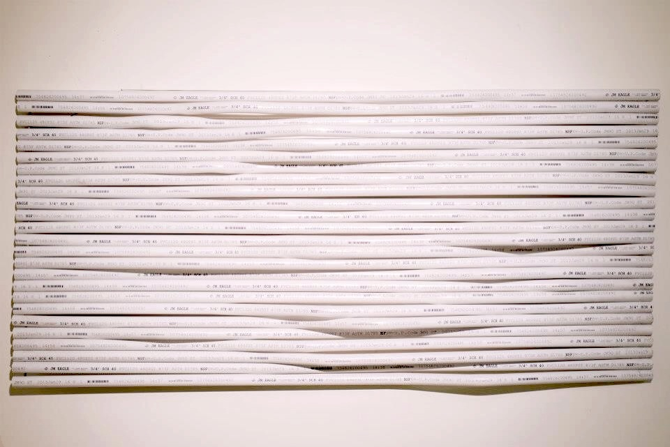 "Schedule 40, 2013  PVC and cold rolled steel rods, 24"" x 44"" x 7"""