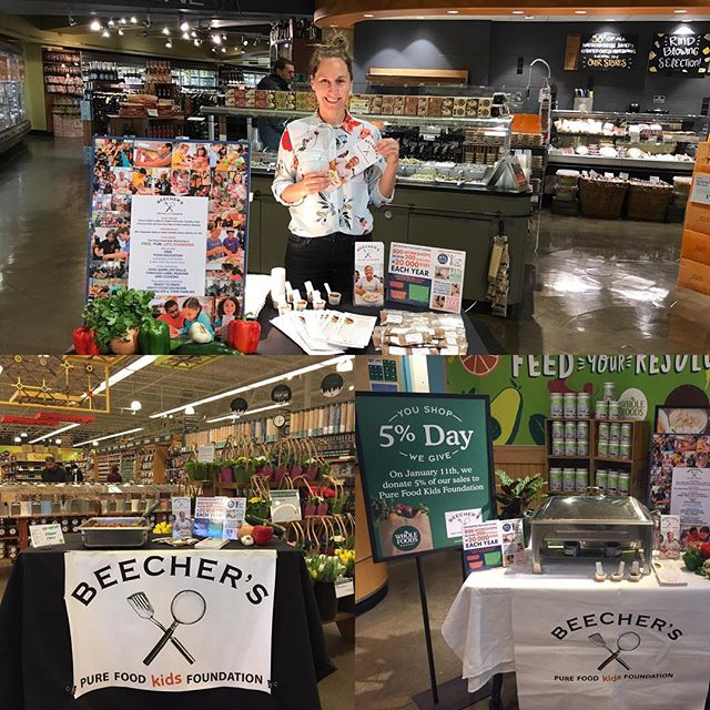 Last minute dinner plans? Need to restock your pantry? Swing in to @wholefoodsseattle and say hello! Remember 5% of your purchases go directly to our food education program.
