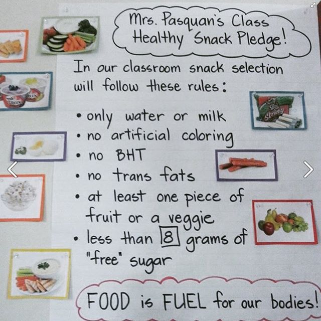 After students complete our workshop, they can keep learning with the Pure Food Challenge, a fun series of extras including taste tests, healthy label hunts, and food journals.  Check out this awesome Healthy Snack Pledge by Ms. Pasquan's fourth grade class!  #foodisfuel #veggiepower #FoodEd #FoodLiteracy #foodeducation #healthiestnextgen #farmtoschool #farmtotable #health #Food #foodie #wellness #diet #fitness #wholefoods #foodshare #nutrition #healthyclassrooms #nutritioneducation #cheflife #changinglives