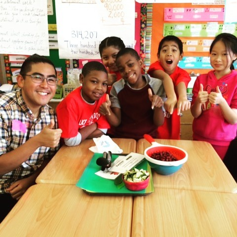 This year our awesome #NYC staff turned more than 3,600 kids at 44 schools into #fooddetectives!