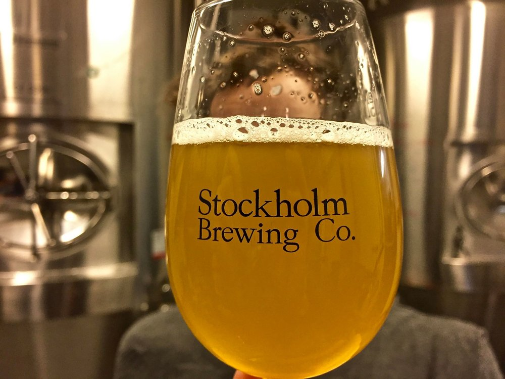 Södermalm IPA Simcoe, Fresh from the tank