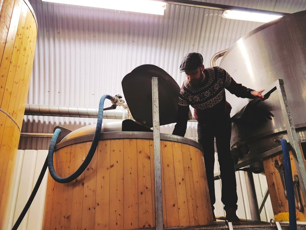 Brewing at Brewing By Numbers