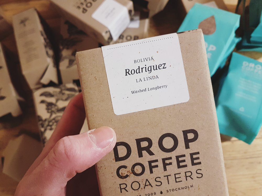 Rodriguez from Drop Coffee