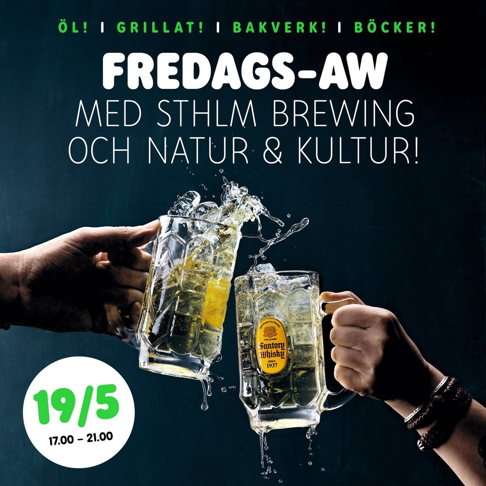 Brewpub 19/5 with Natur & Kultur