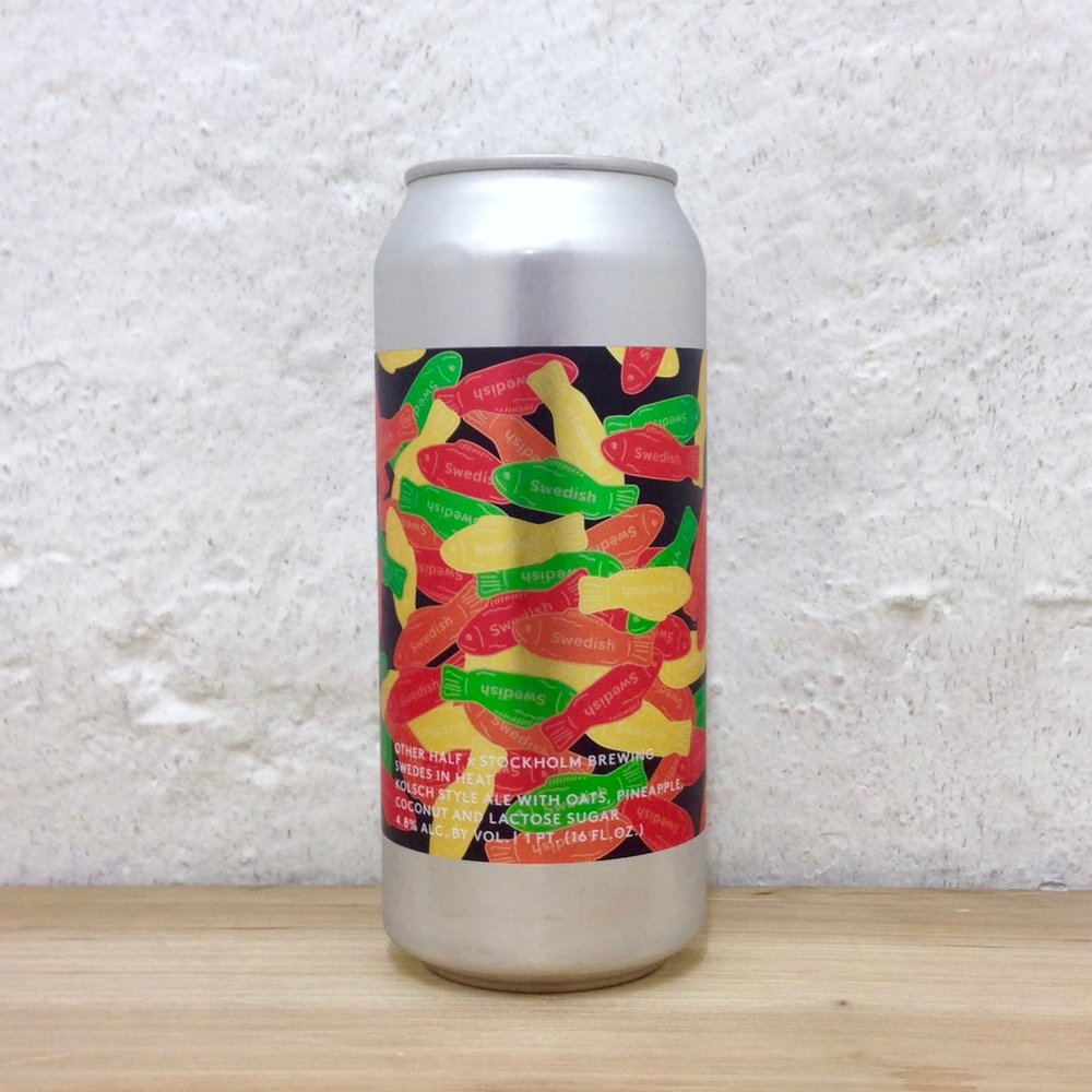 A kolsch style ale with oats, pineapple, coconut and lactose sugar. Brewed in New York together with Other Half. 4,8%