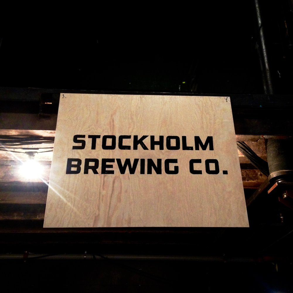 Hand painted signs by  Sthlm Signs
