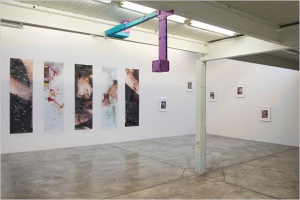 Image credit: Sam de Lange. Courtesy Diaz Contemporary. Installation view,BLIND WHITE,Diaz Contemporary, 2015.