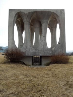 Monument on Freedom Hill, 2012. Illirska Bistrica, Slovenia. Image courtesy Yasmin Nurming-Por