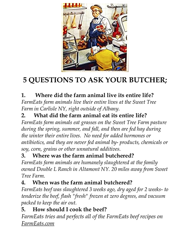 5 questions to ask your butcher