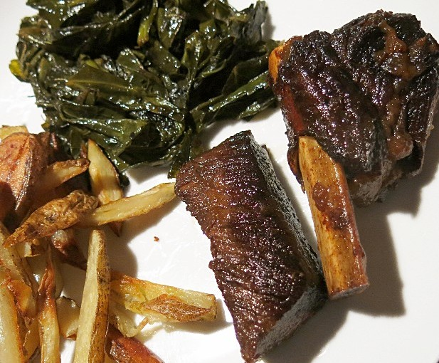 FarmEats 100% grass fed beef short ribs