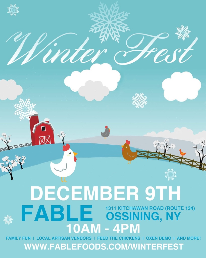 Fable Winter Fest Flyer 2018