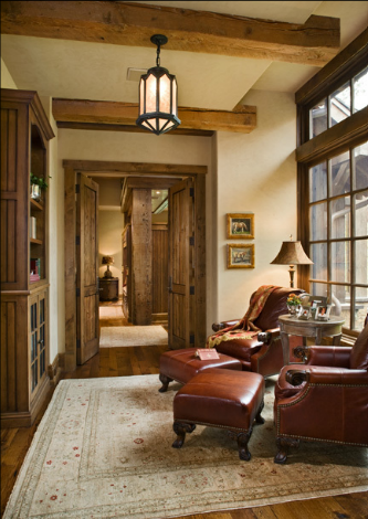 RUSTIC REDEFINED- A Vision of Home Moves From its American West Roots to a Rural Plot in Ontario, Canada  http://bit.ly/12ZjjQ8