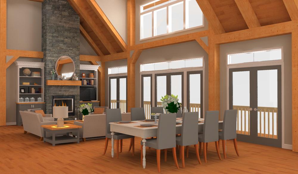 Baysville Living Room