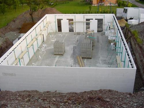 Insulted form form ready for concrete