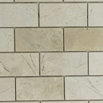 Centura Tile  Europa 2x4 Mosaic  Marble Floor and Wall Tile