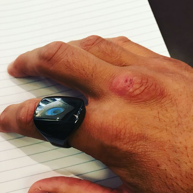 Loving my new @ouraring! It was recommended by @alexfergus_coach and @bengreenfieldfitness. Had it for a couple weeks now and it gives me the real feedback I need for recovery. Real sleep metrics and recovery info based on sleep time and more importantly-quality,HRV(heart rate variability),body temperature,respiration rate,resting heart rate,and previous days activity. I love seeing where I am in the morning and planning the days intensity based on the feedback. It helps me get off the throttle so to speak when needed since I'm so bad at that. I highly recommend it and plan on having clients use it. I sleep well but have an issue with getting enough deep sleep so this is helping me work on that. @mindpumpsal you should check this thing out since I've heard a few of your guest bring it up as well. #ouraring #sleep #recover #hrv #wellness #fitness