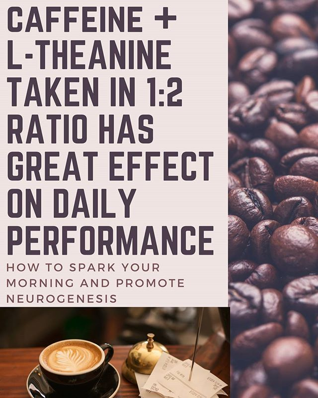 Simple and natural nootropics to help start the day. I have had good success with 100mg caffeine and 200mg of L-theanine before a morning trigger session(light sweat). Feel much more clear and focused all day. #caffeine #ltheanine #natural #nootropics #energy #cognition