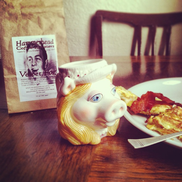 photo of mat's breakfast courtesy of mat hudson.