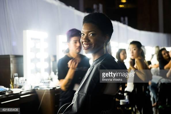 LA Fashion Week - Union Station October 2015  MUA | Bek Harvey  Cinema Secrets PRO team  Concepts by Shanna Cistilli  Image by Gettyimages