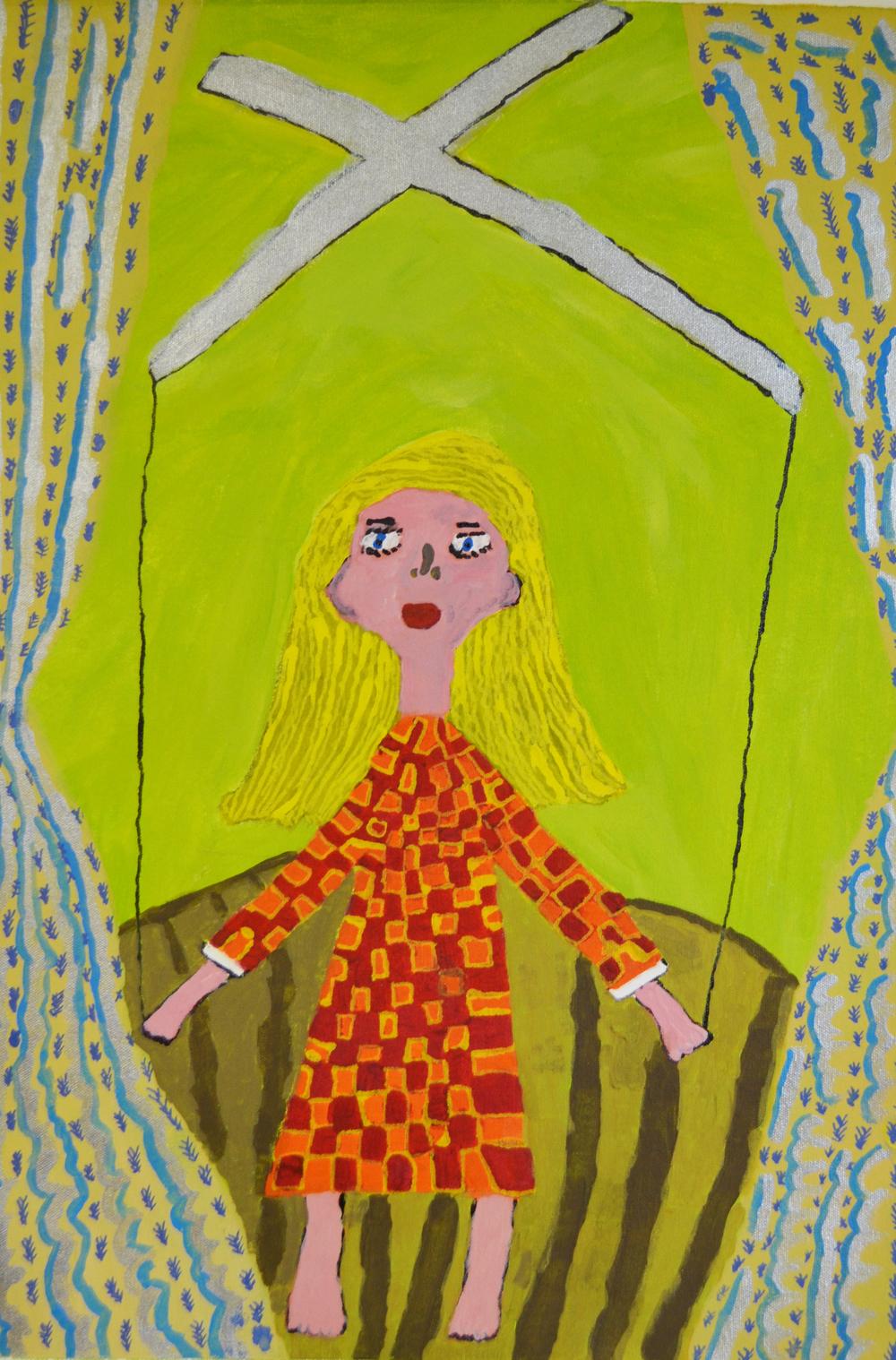 Madeleine Wilson  Mabel the Marionette ,2015