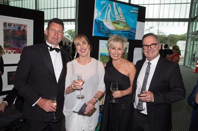 Alan Salmon, Terri Cavanagh (Attitude Awards Project Manager), Robyn & Denis Harvey (Attitude Pictures Board)