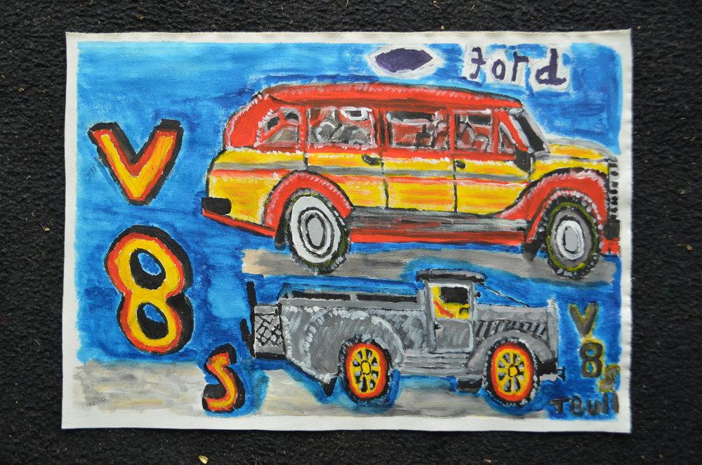 1940s Fords, Trevor Bull, 2016.JPG