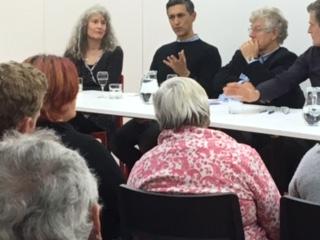 Panellists Left: Karen Janiszewska, Centre: Tim Melville, Right:Richard Northey