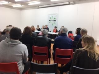 Crowd and Panellists