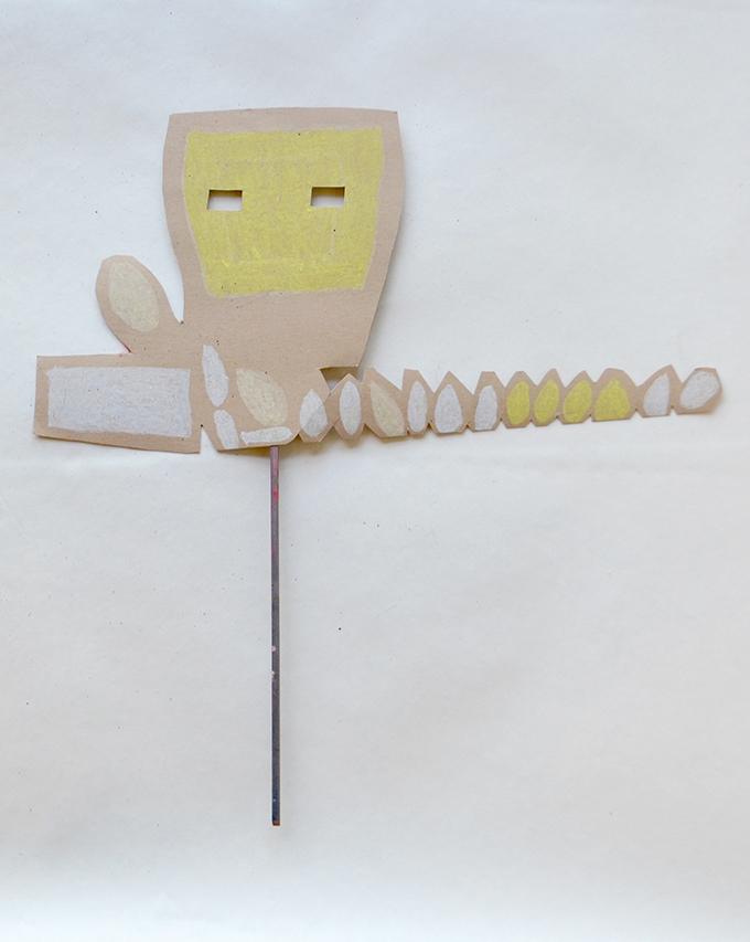 "Matthew Allerby ""Robot Mask"""